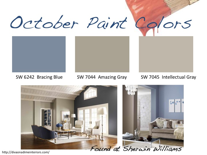 October paint colors