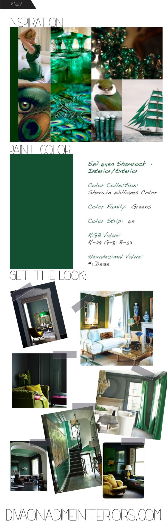 diva on a dime interiors green paint sherwinn williams
