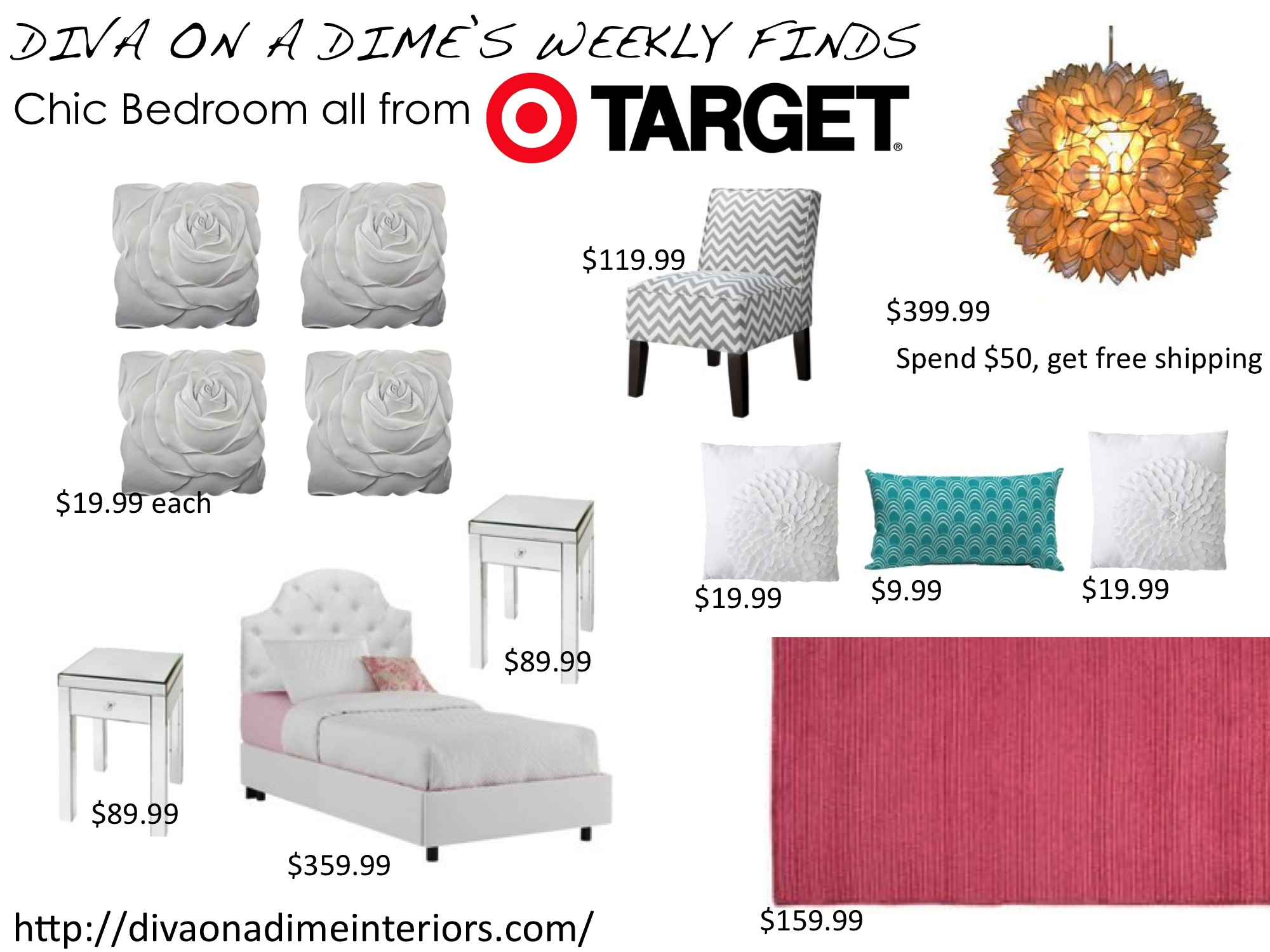 Weekly Finds: Chic Teen Bedroom by Target
