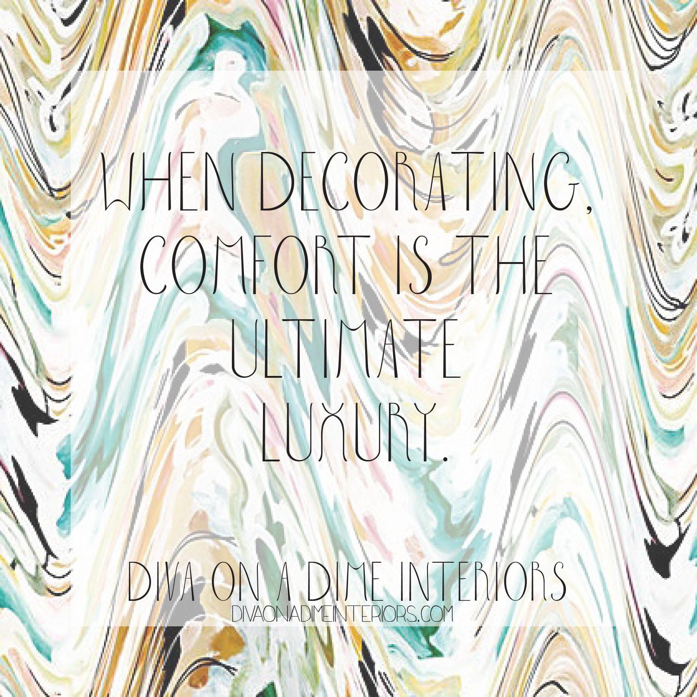 Comfort=Luxury