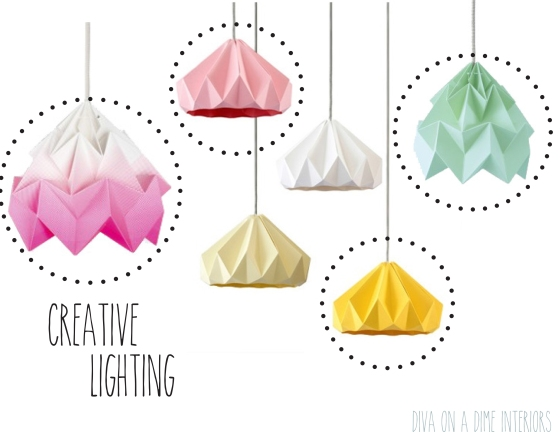 CREATIVE LIGHTING DIVA ON A DIME INTERIORS BLOG MARISSA IACOVONI