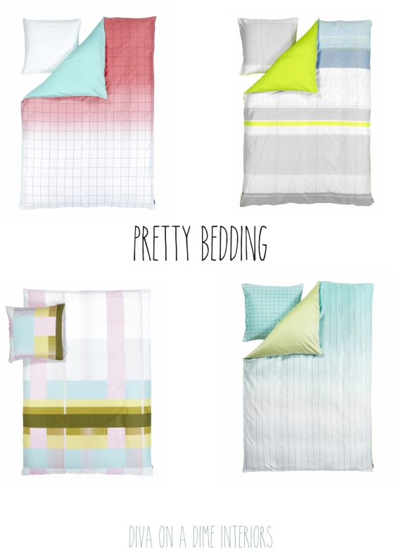 pretty bedding diva on a dime interiors