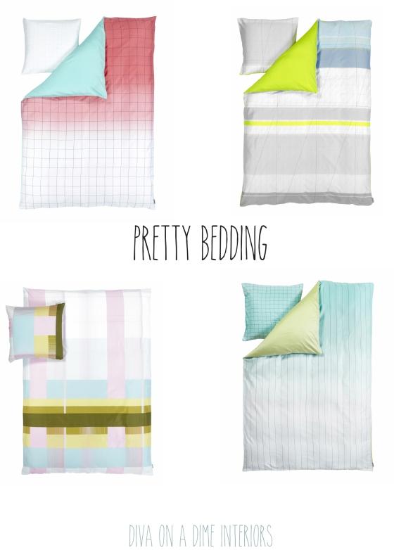 pretty bedding diva on a dime interiors