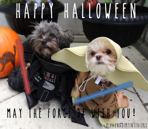Happy Halloween: May The Force Be With You!