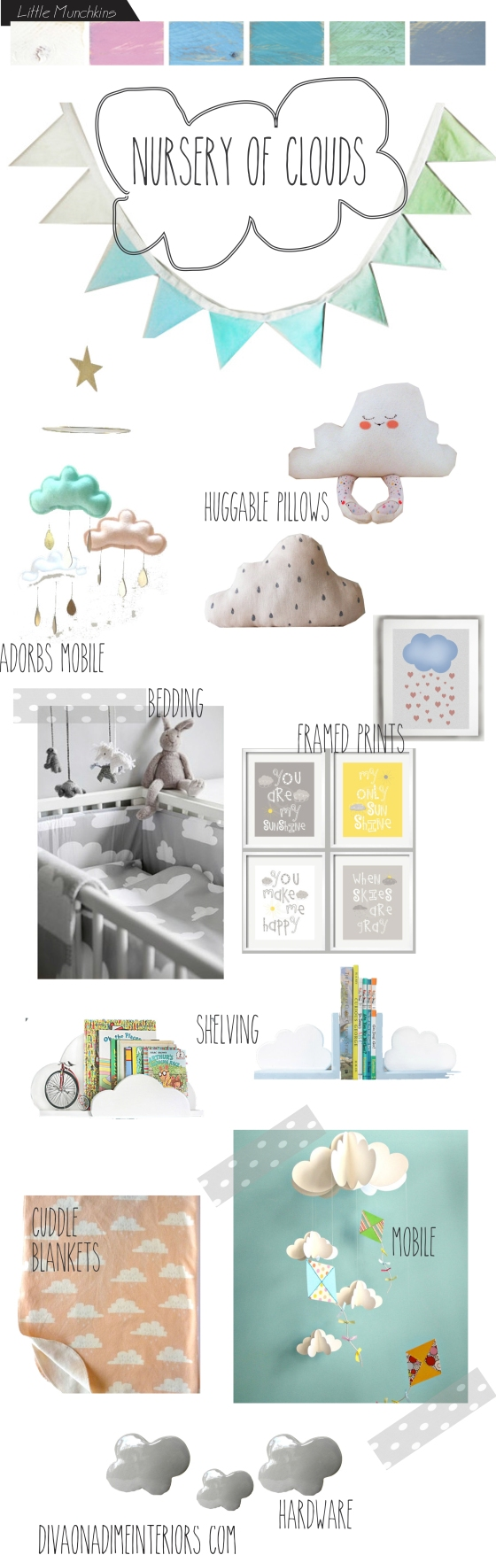 nursery of clouds diva on a dime interiors
