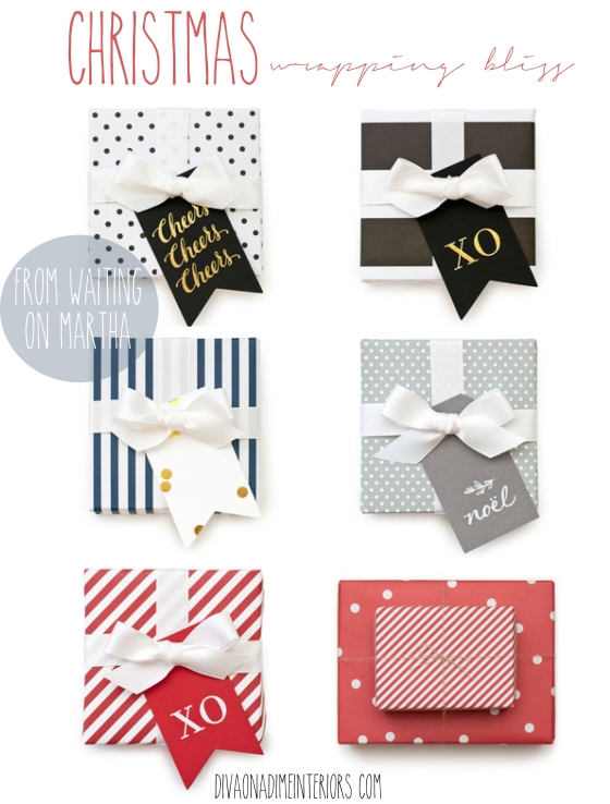 christmas wrapping bliss diva on a dime interiors
