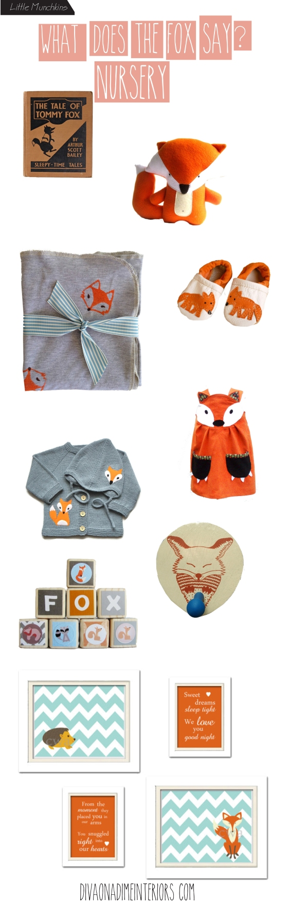 WHAT DOES THE FOX SAY DIVA ON A DIME INTERIORS BLOG MARISSA IACOVONI INTERIOR DESIGNER