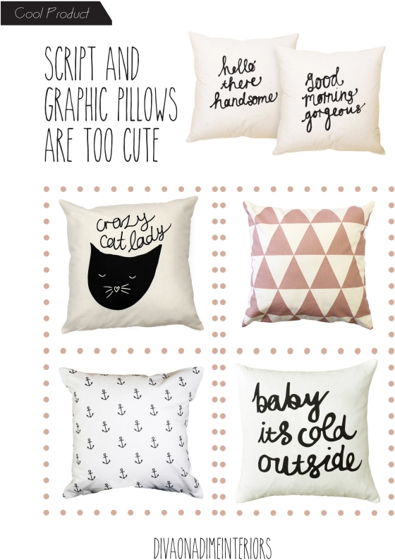 DIVA ON A DIME INTERIORS PILLOWS