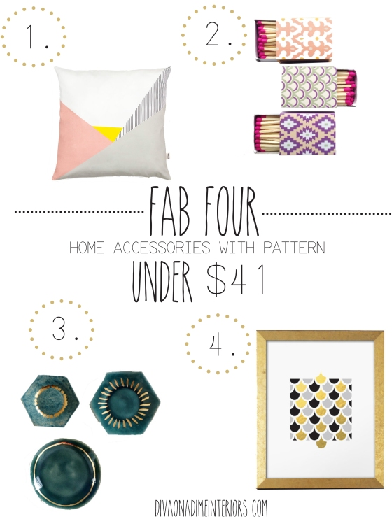 fab four home accessories diva on a dime interiors top home decor blog